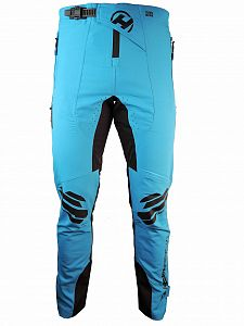 Kalhoty RIDE-KI long black/blue