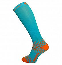 Kompresní podkolenky HAVEN EvoTec CoMax blue/orange- HIGH COMPRESSION